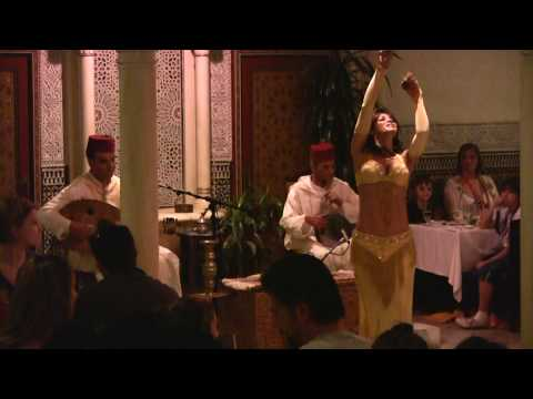 Belly Dancer at EPCOT's Morocco Pavilion