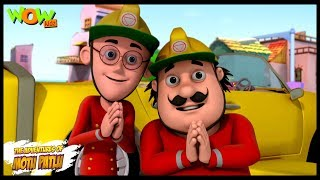 The Fire Fighter - Motu Patlu in Hindi WITH ENGLISH, SPANISH & FRENCH SUBTITLES width=