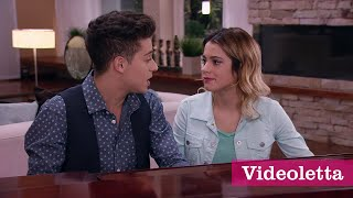 "Violetta 3 English: Fede and Vilu sing ""In my own world"" Ep.30"