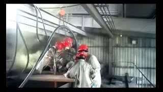 melting furnace ceramic welding hot repair