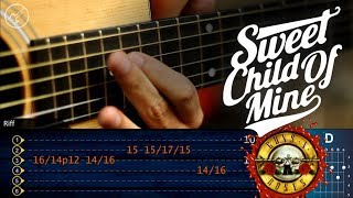 Sweet Child o Mine Guitarra Acustica | GUNS N´ROSES | SOLO 1 Christianvib