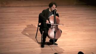 JS Bach: Cello Suite No. 1,  IV. Sarabande - Colin Carr