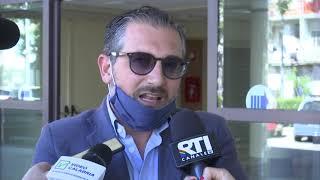 TRASPORTO INTERREGIONALE SIT IN DEI LAVORATORI DELL'AZIENDA ROMANO