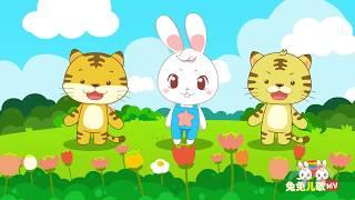 【兔兔儿歌】两只老虎