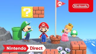Animal Crossing Mario Update Inbound - Here Are All The Items we Know so Far