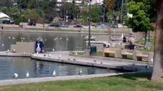 MacArthur Park in Los Angeles, California