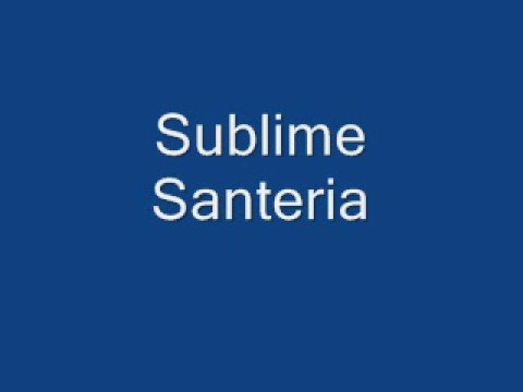 Sublime Santeria Chords Chordify