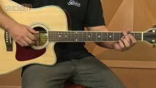 videoclase Amor Pra Recomeçar (aula de violão completa)
