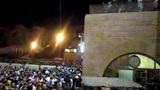 Tefilah at the kotel before the Gush Katif Torah