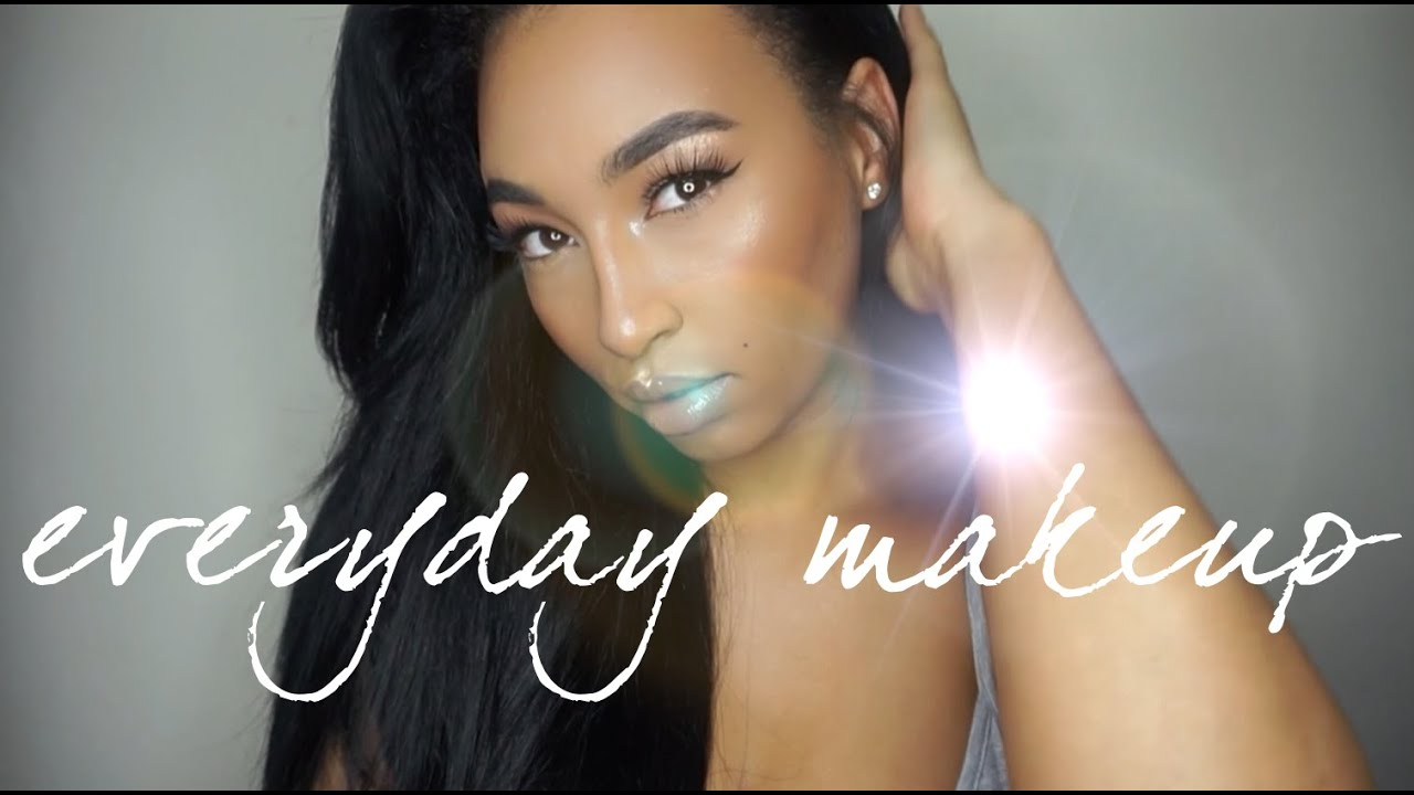Fresh & Clean Everyday Makeup (TUTORIAL) | LLETITIA ONLINE