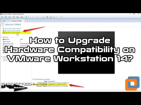 Upgrading the Virtual Machine Hardware Version