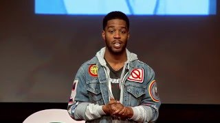 Scott Mescudi aka rap artist kid cudi gives Ted talk
