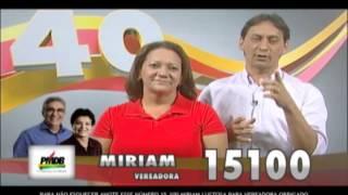 Propaganda Eleitoral - Vereadora Mírian Lustosa e Irmão Mário Cezar