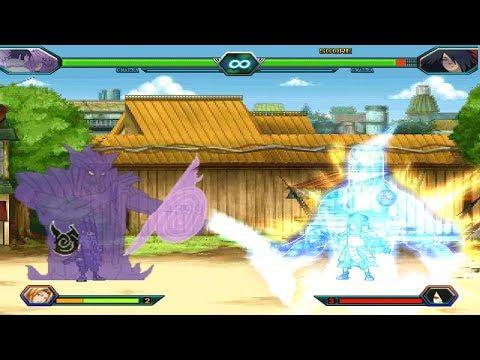 Download Video Sasuke Vs Madara - Bleach Vs Naruto 3.2