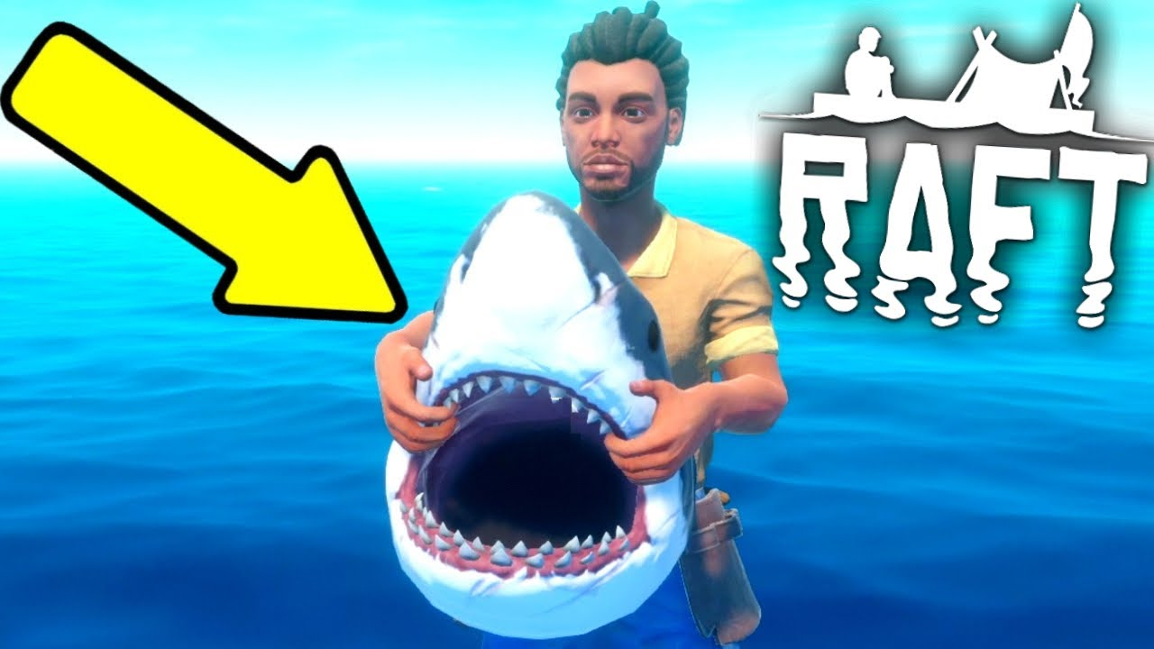 The Frustrated Gamer - We Stole A SHARK HEAD In Raft!