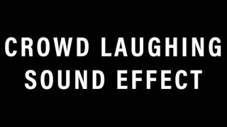 Crowd Laughing Sound Effect