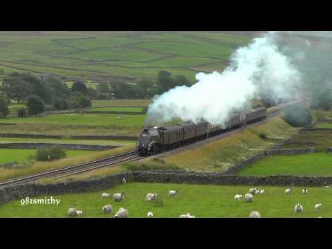 A4 60009 on The Cumbrian Mountain Express on Sat 4th August 2012.