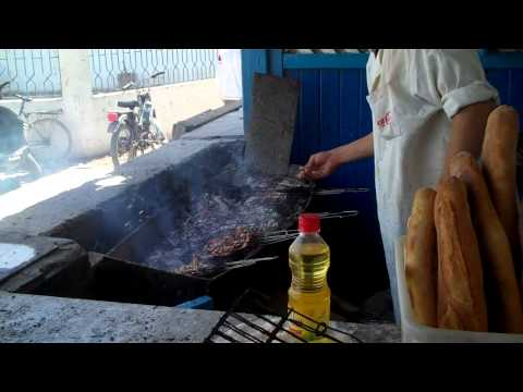 Grilled fish in Essaouira, Morocco