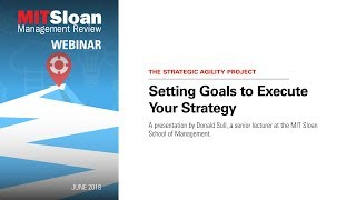 Setting Strategy Goals