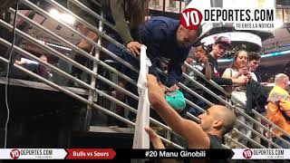 Manu Ginobili Chicago Bulls vs. San Antonio Spurs Opening Night NBA Noche Inaugural