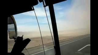 Remolinos en el desierto camino para arica.3gp