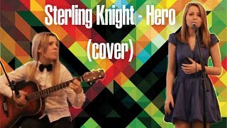 Sterling Knight -- Hero (cover)