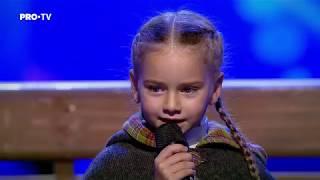 """Romanii au talent 2018: Amelia Uzun si Anca Cernicova - Interpreteaza piesa """"Once Upon a December"""""""