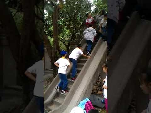 花蓮縣中正國小403森榮國小溜滑梯 1 - YouTube