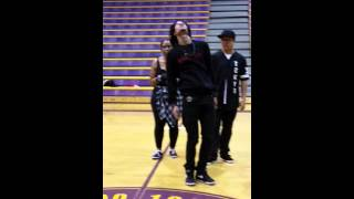 Les Twins Larry in Camden NJ  I Know You by Skylar Grey / then some craziness - sorry