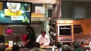 Martin Yan  cuts a chicken in 17 1/2 seconds!