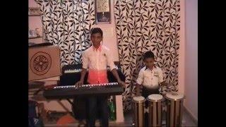KUMBALA MANISH & DEEPESH PLAYING KANIPINCHINA MA AMMAKU SONG FROM MANAM
