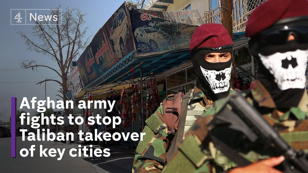 Afghan Forces Crumbling as Taliban Advance
