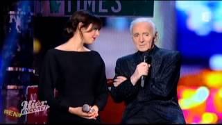 """Nolwenn Leroy et Charles Aznavour chantent """"Un jour tu verras"""" - Hier encore sur France 2"""