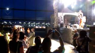 Christopher Martin - Live performance - Montreal international reggae festival 2012 -