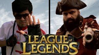 Lee Sin vs GP (Live Action Short Film) - League of Legends