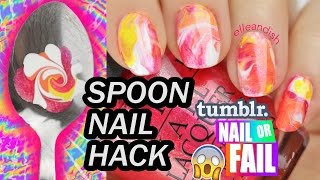 ▲ NAIL or FAIL: WATERMARBLE SPOON HACK! ▲