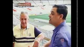 De pai para filho: Vibrantinho e Alberto Rodrigues contam suas glórias no Mineirão