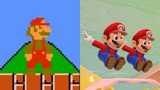 Super Mario Bros. Theme Evolution 1985 - 2015
