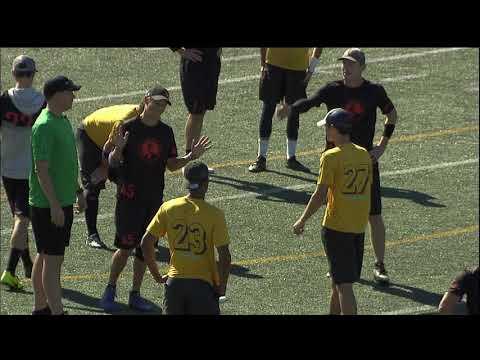 Video Thumbnail: 2018 National Championships, Men's Semifinal: San Francisco Revolver vs. Raleigh Ring of Fire