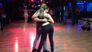 Moun & Karole Workshop in Amsterdam. Organized by Kizomba Domingo.
