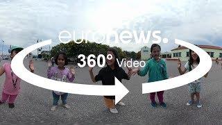 360°: Do campo de refugiados para a sala de aulas