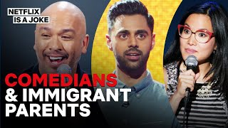 15 Minutes of Comedians on Their Immigrant Parents | Netflix Is A Joke