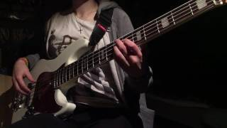 "The Dillinger Escape Plan - ""One of Us is the Killer"" (Bass cover)"