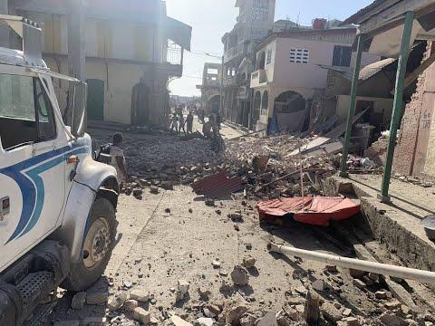 Fortíssimo Terremoto de 7.2 graus destrói tudo no Haiti e gera tsunami