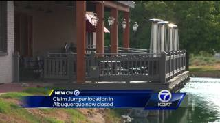 Claim Jumper Albuquerque location closes its doors