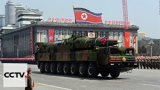 DPRK missile falls in Japan waters for first time