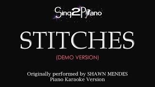 Stitches (Piano karaoke demo) Shawn Mendes