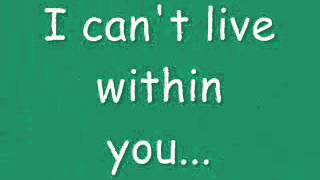 David Bowie - Within You (lyrics video)