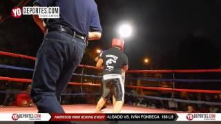 Alfredo Salgado vs  Ivan Fonseca Harrison Park Boxing Event Pilsen