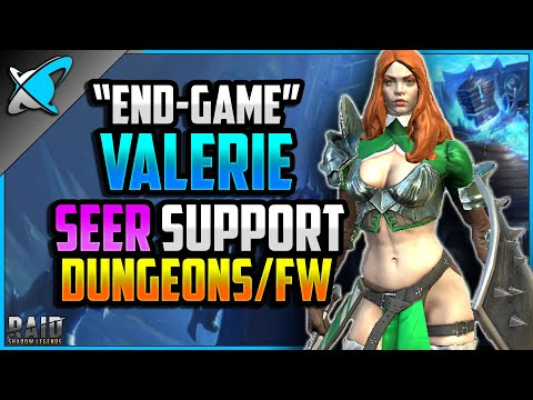 """""""END-GAME"""" Valerie Build, Guide & Masteries 